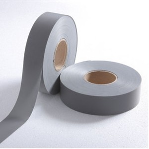 Second Grade High Luster's Poly Grey Reflective Tape
