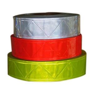 Micro prismatic reflectorizante din PVC bandă-TX-PVC001